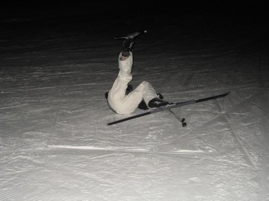 Sarah on snow