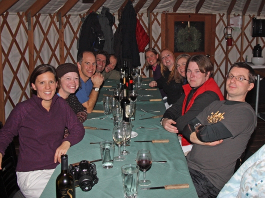 yurt all at table