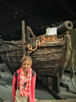 The USS Philadelphia - built and sunk in 1776